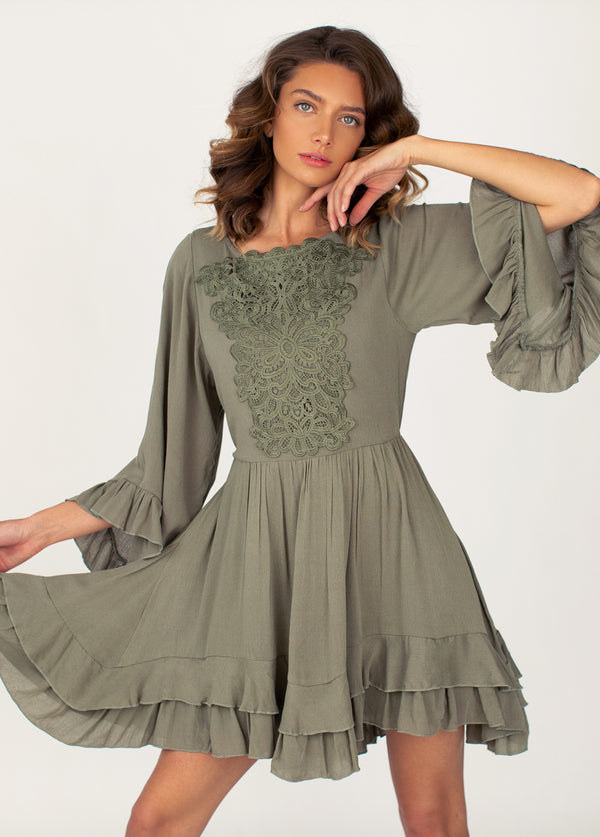 *NEW* Calypso Dress in Vetiver