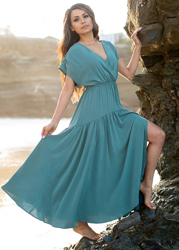 *NEW* Sheniah Dress in Goblin Blue