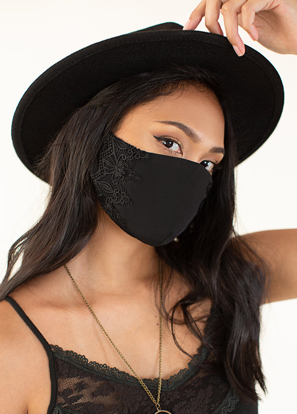 *SOLD OUT* Women's Arminda Mask Set in Black & Charcoal