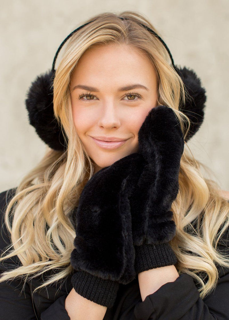 Madison Earmuffs in Black