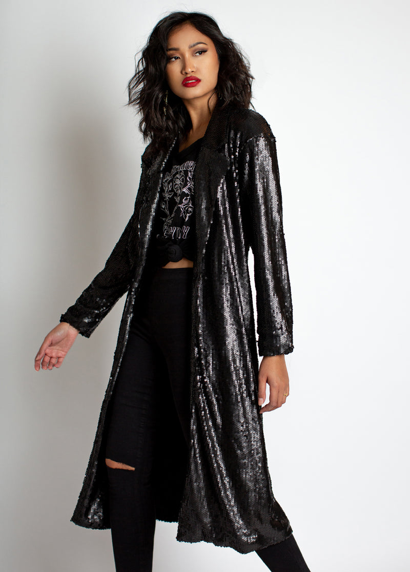 *NEW* Alexia Duster in Black
