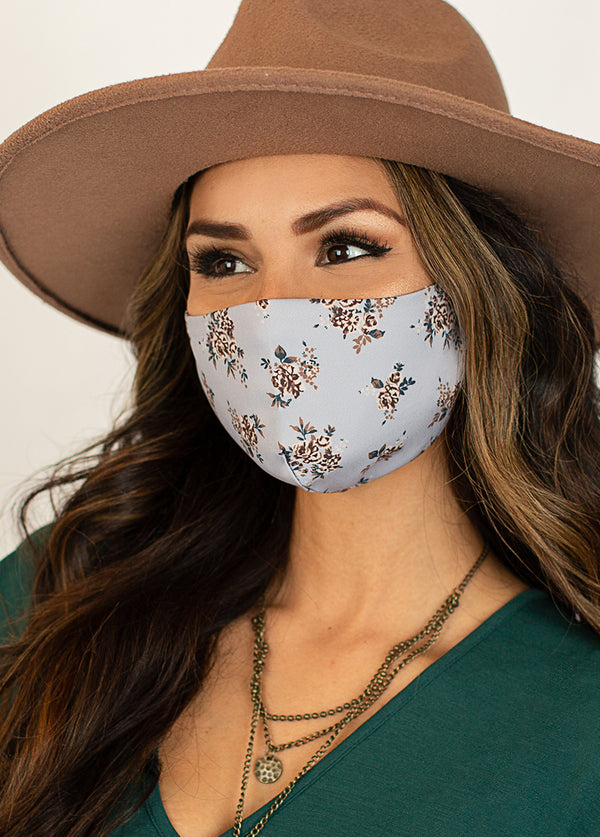 *NEW* Women's Boho Mask Set in Deep Teal