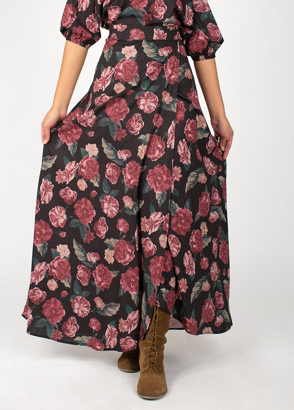 *NEW* Bolance Skirt in Dark Floral