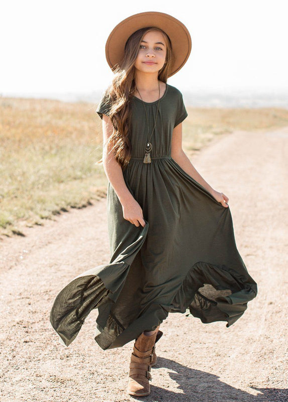 *NEW* Braelyn Dress in Olive