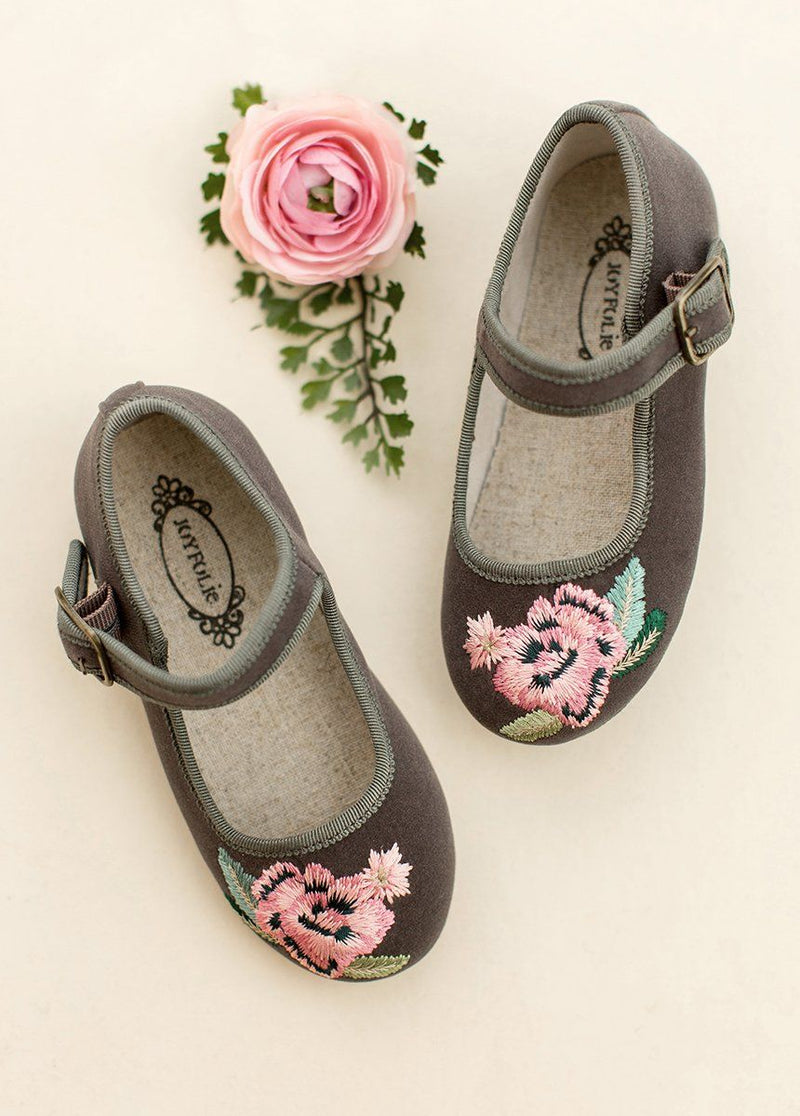 *NEW* Brielle Mary Jane in Gray Multi