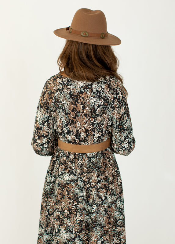 *NEW* Roanne Dress in Camo Floral