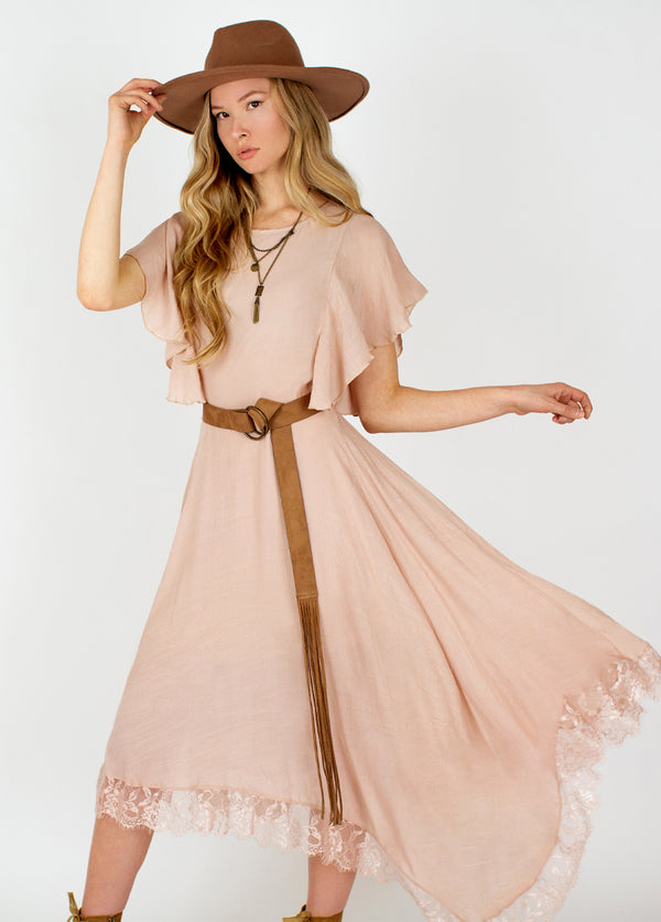 *NEW* Lakynn Dress in Rose Smoke