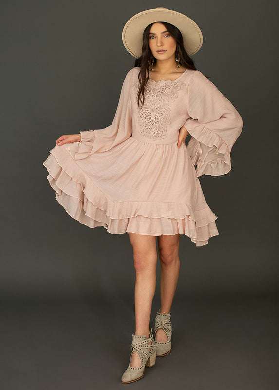 *NEW* Calypso Dress in Rose Smoke