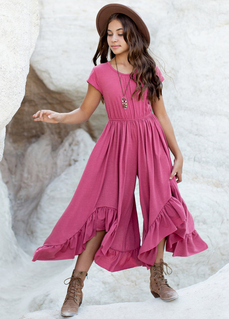 *NEW* Canyon Jumpsuit in Pink Rosette