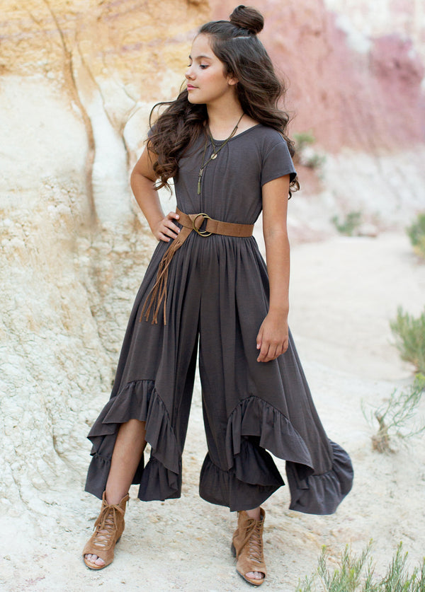 Canyon Jumpsuit in Cinder