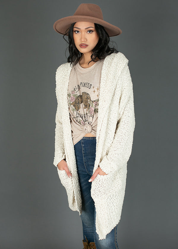 Cassarra Cardigan in Oatmeal