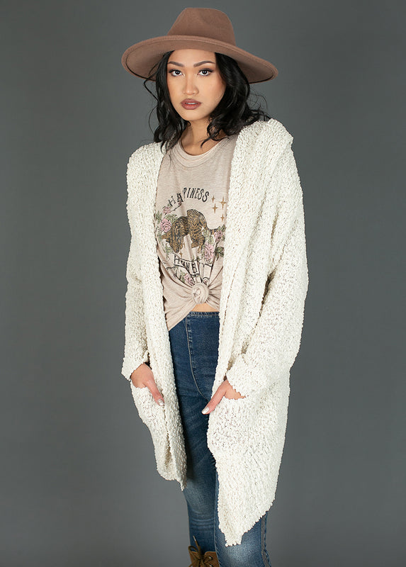 *NEW* Cassarra Cardigan in Oatmeal