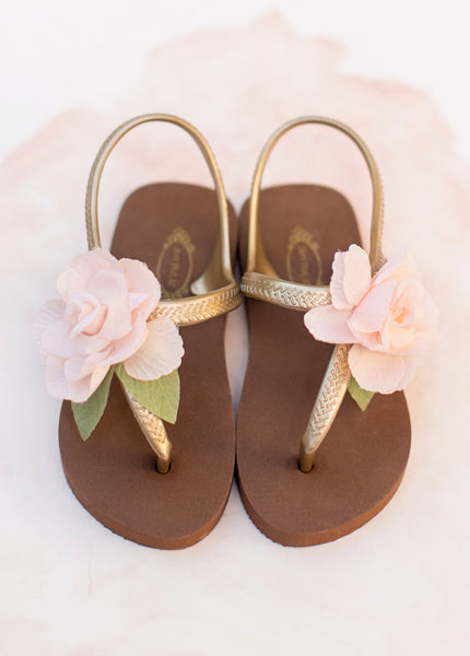 Women's Cassia Flip Flops in Blush