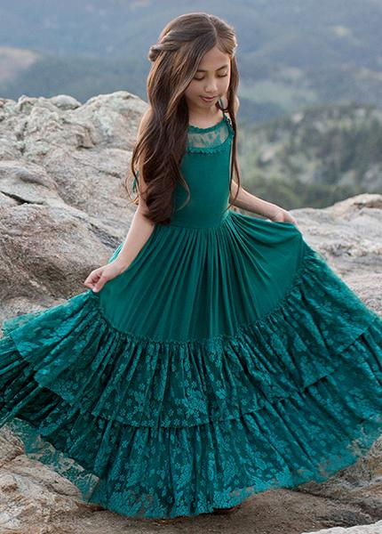 *NEW* Catrin Dress in Teal