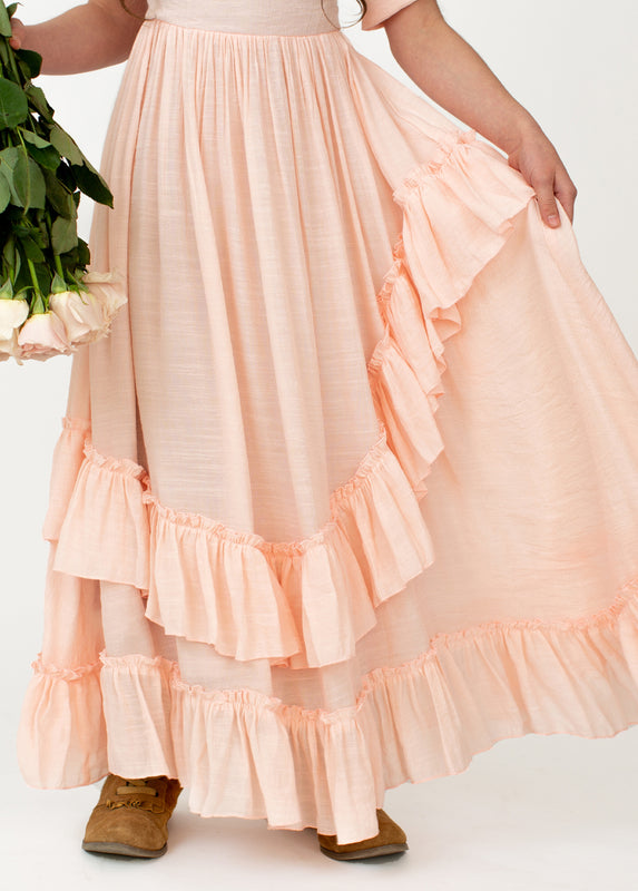 *NEW* Cedrica Dress in Shell Pink