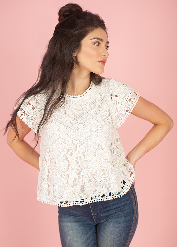 *NEW* Charro Top in Turtledove