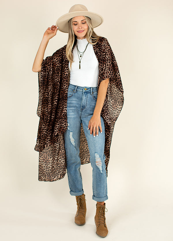 *NEW* Women's Avalon Duster in Cheetah