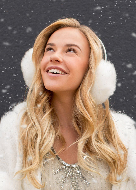 *NEW* Madison Earmuffs in Cream