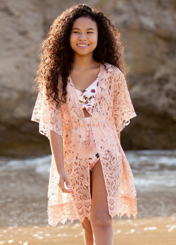 *NEW* Leebee Cover-Up in Rose Smoke