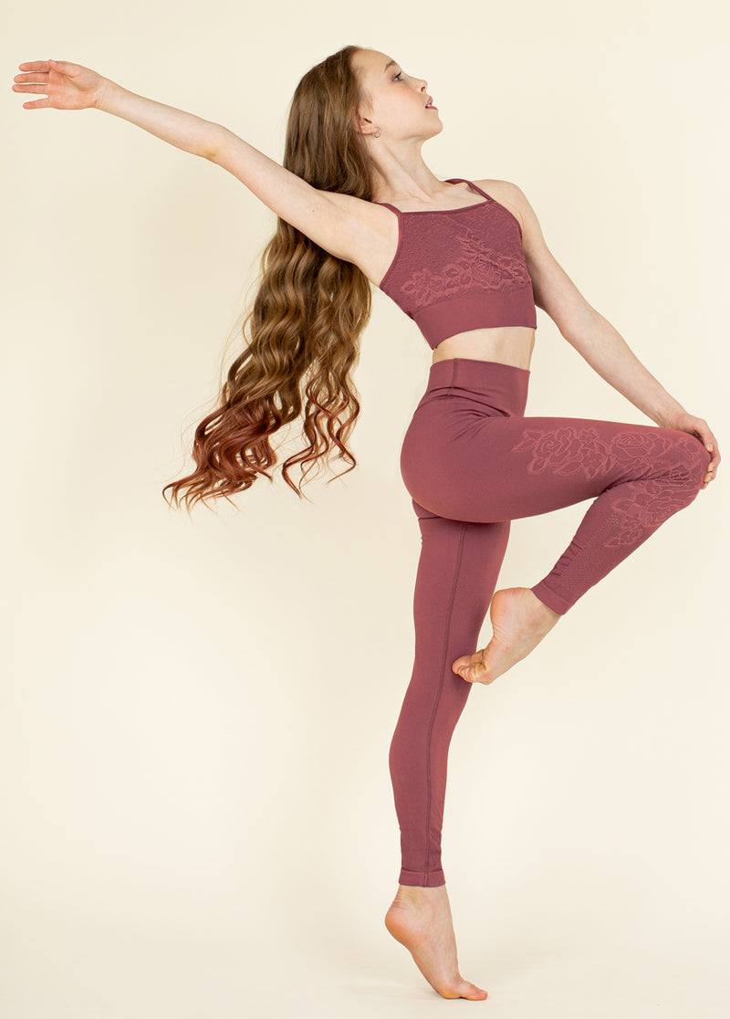 Rosaline Seamless Leggings in Apple Butter