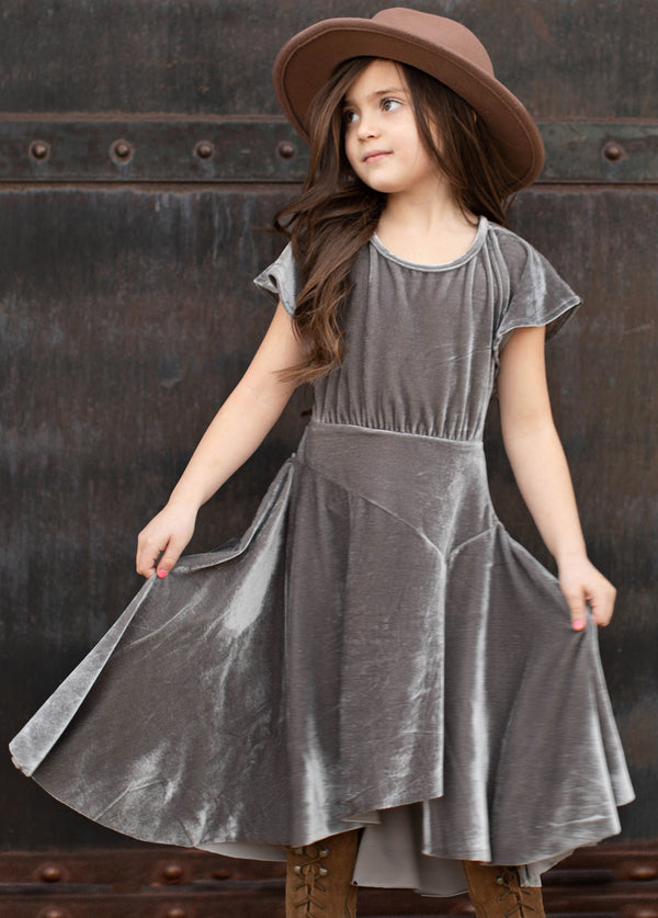 *NEW* Harleigh Dress in Stone