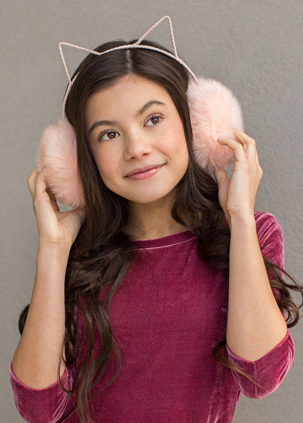 *NEW* Macie Earmuffs in Blush