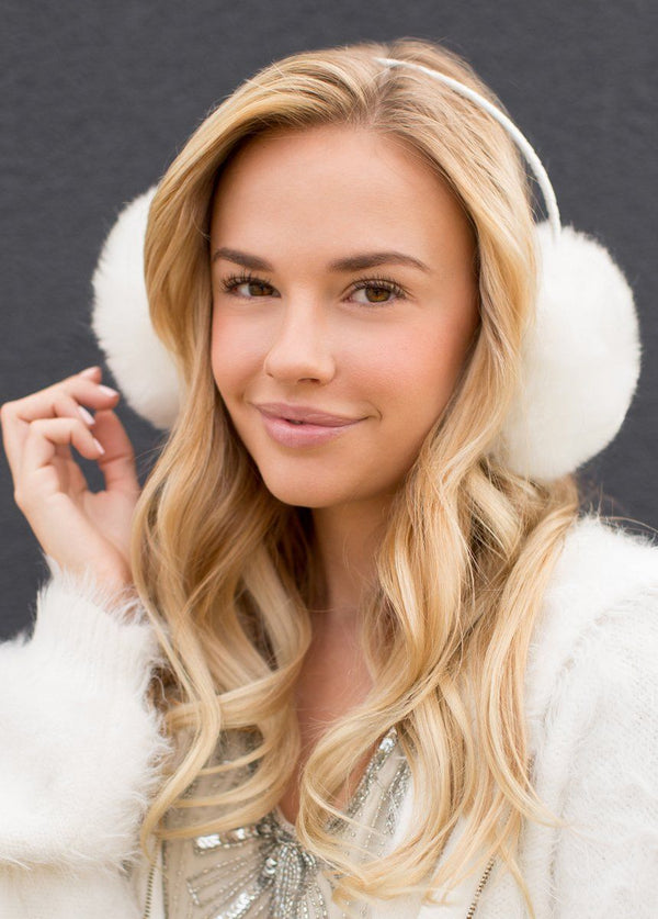 Madison Earmuffs in Cream
