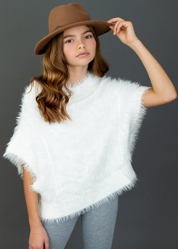 *NEW* Edith Sweater in White Oat