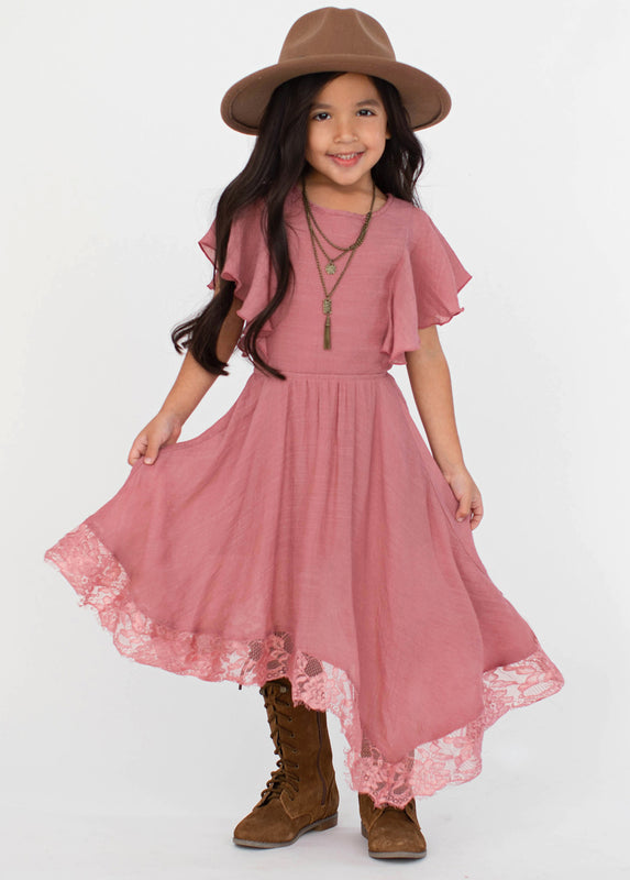 Lakynna Dress in Rose Petal