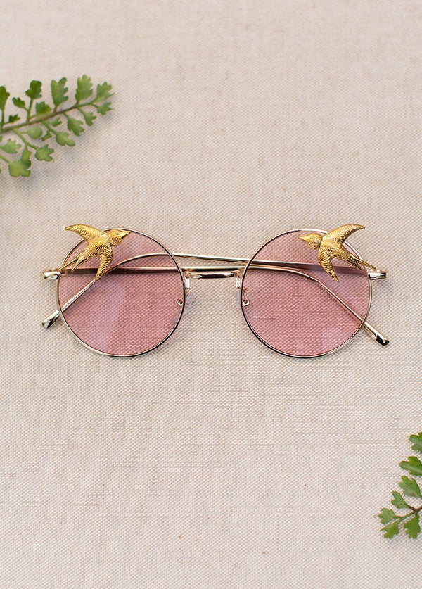 Elena Sunnies in Blush