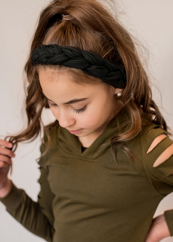 Elisa Headband in Black