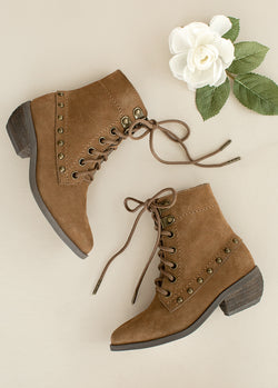 *NEW* Eliza Ankle Boot in Pecan