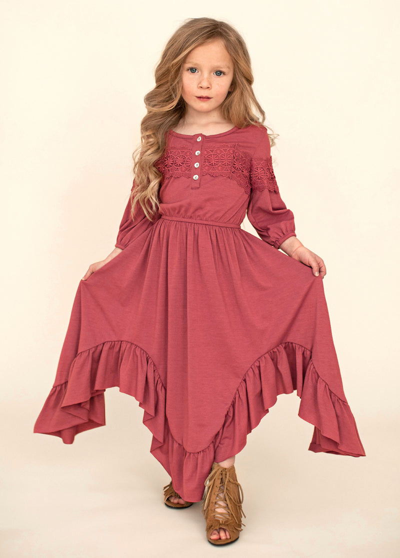 *NEW* Elvia Dress in Berry