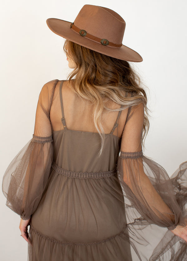*NEW* Ember Dress in Taupe