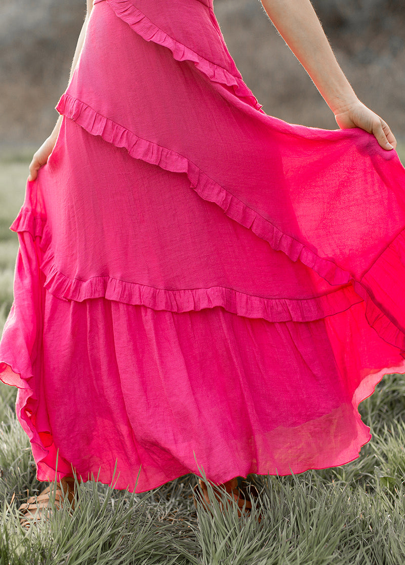 *NEW* Fae Dress in Fuchsia
