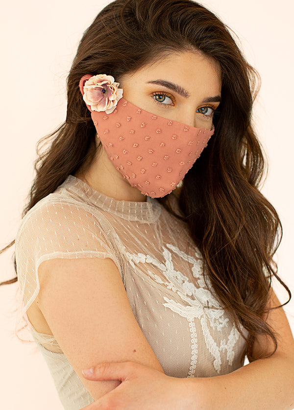 *NEW* Women's Arminda Mask Set in Mauve & Sandy Beach