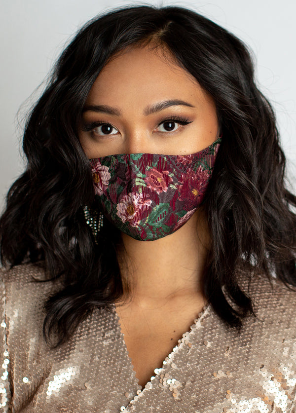 *NEW* Women's Floral Lace Mask
