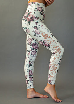 *NEW* Emberly Legging in Mauve Floral