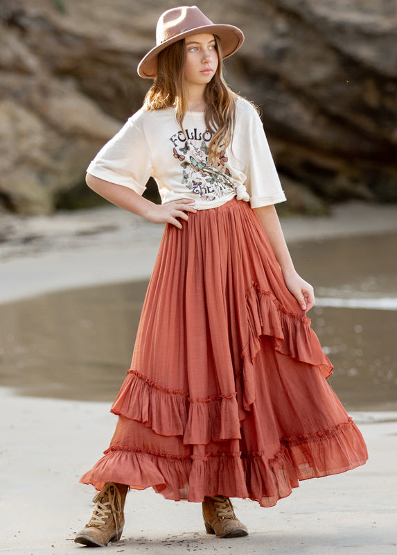 *NEW* Rica Skirt in Desert Sand