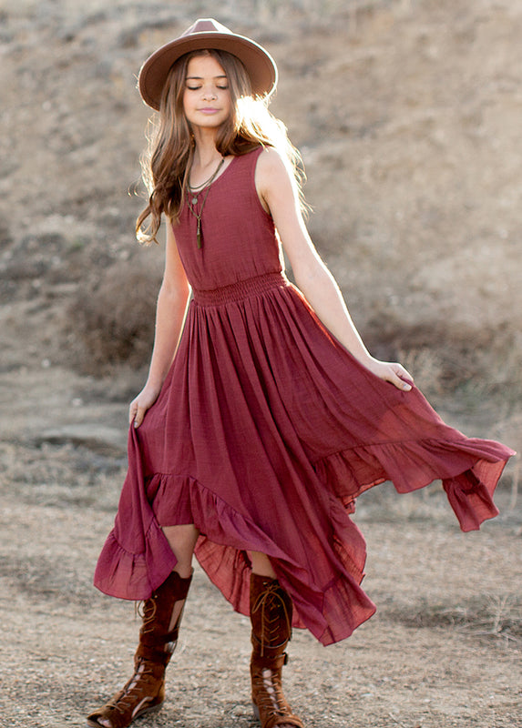 *NEW* Gemma Dress in Mesa Rose