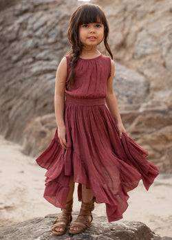Gemma Maxi Dress in Mesa Rose