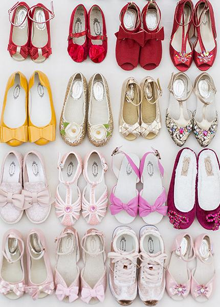 Girl's Shoes Sample Box