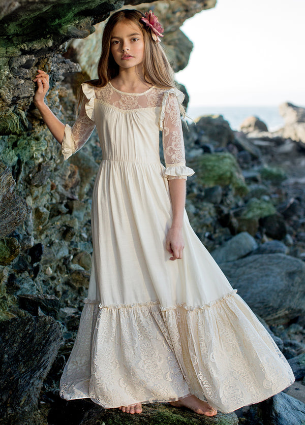 *NEW* Glennon Maxi Dress in Cream