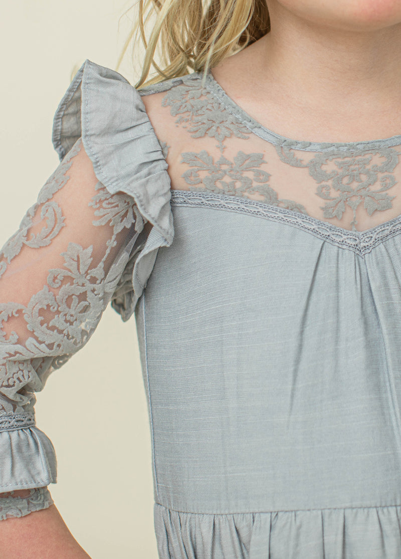 *NEW* Glennon Dress in Vapor Gray