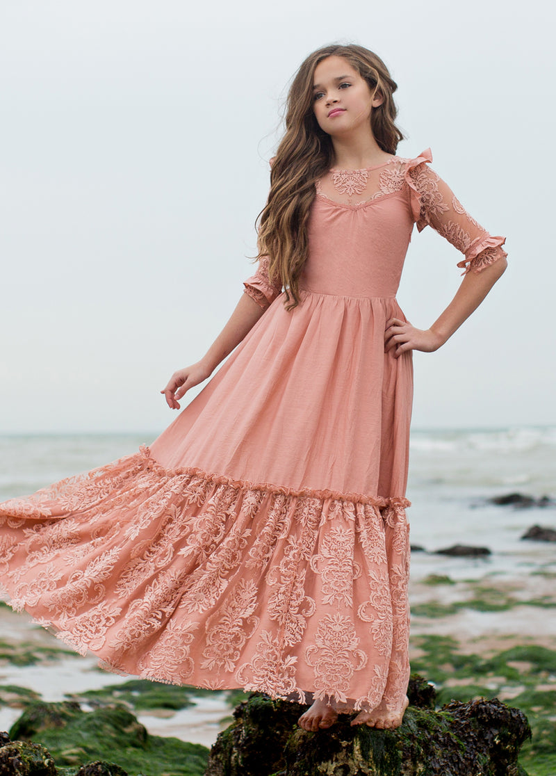 Glennon Maxi Dress in Muted Coral