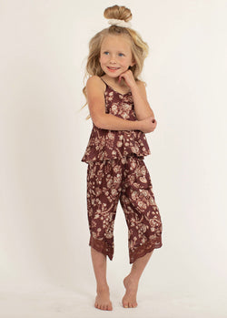 *NEW* Halinka PJ Set in Damask Floral