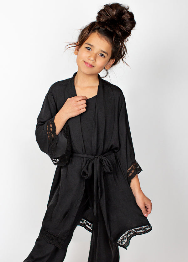 Landry Robe in Black