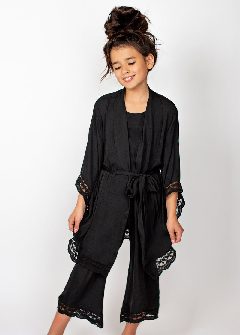 *NEW* Landry Robe in Black