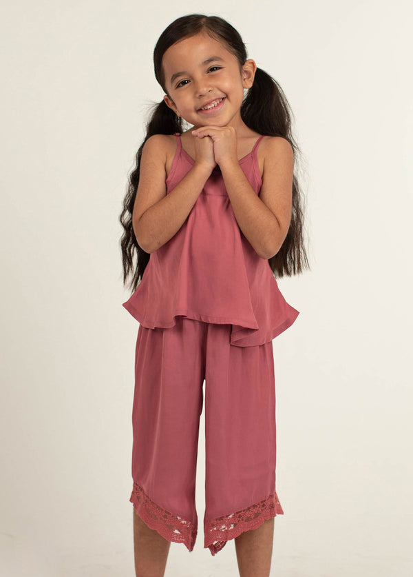 *NEW* Halinka PJ Set in Dark Blush
