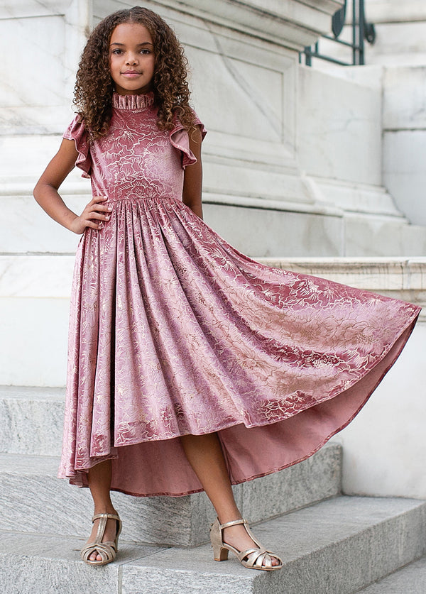 *NEW* Hallie Dress in Mauve